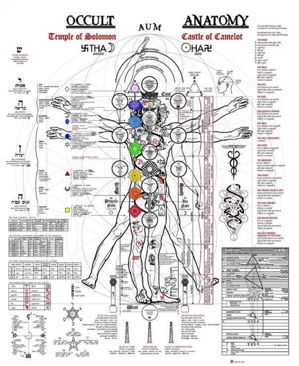 harta oculta a omului